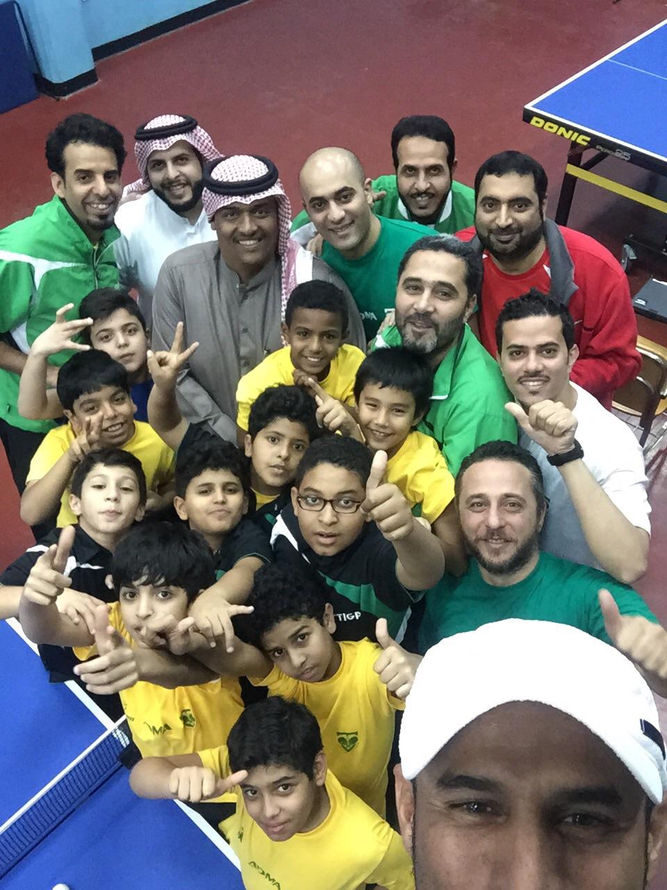 Selfie from Saudi NHW