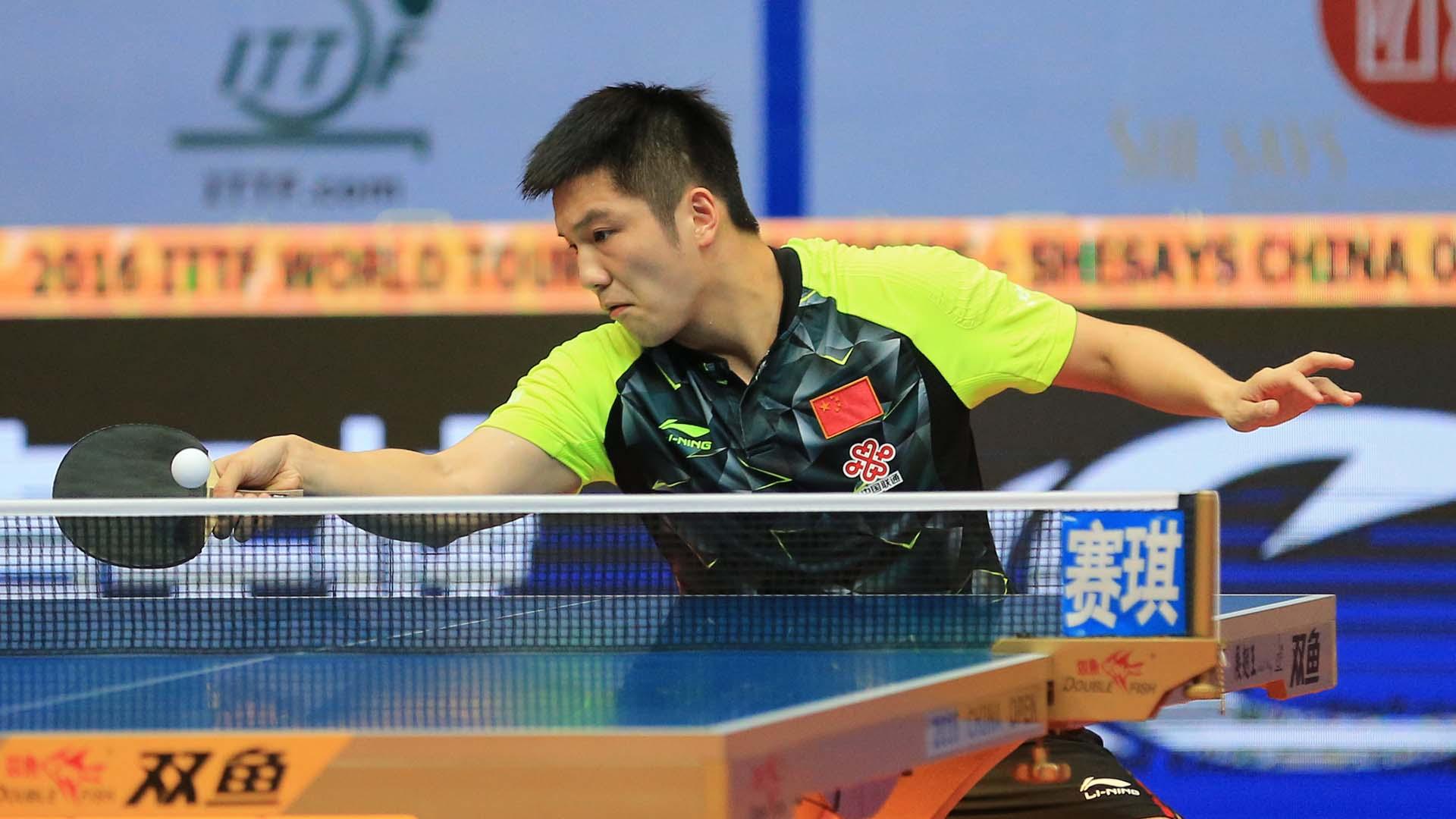 Bumper year for Fan Zhendong