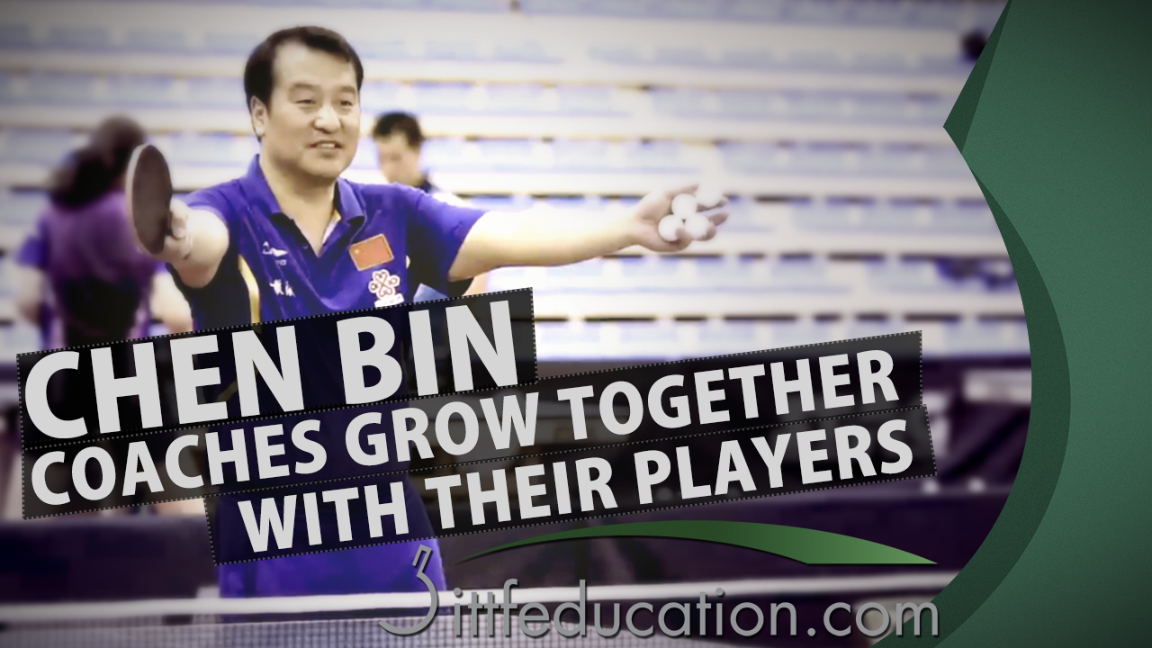 Interview With Chen Bin – Coaches Grow Together With Their Players