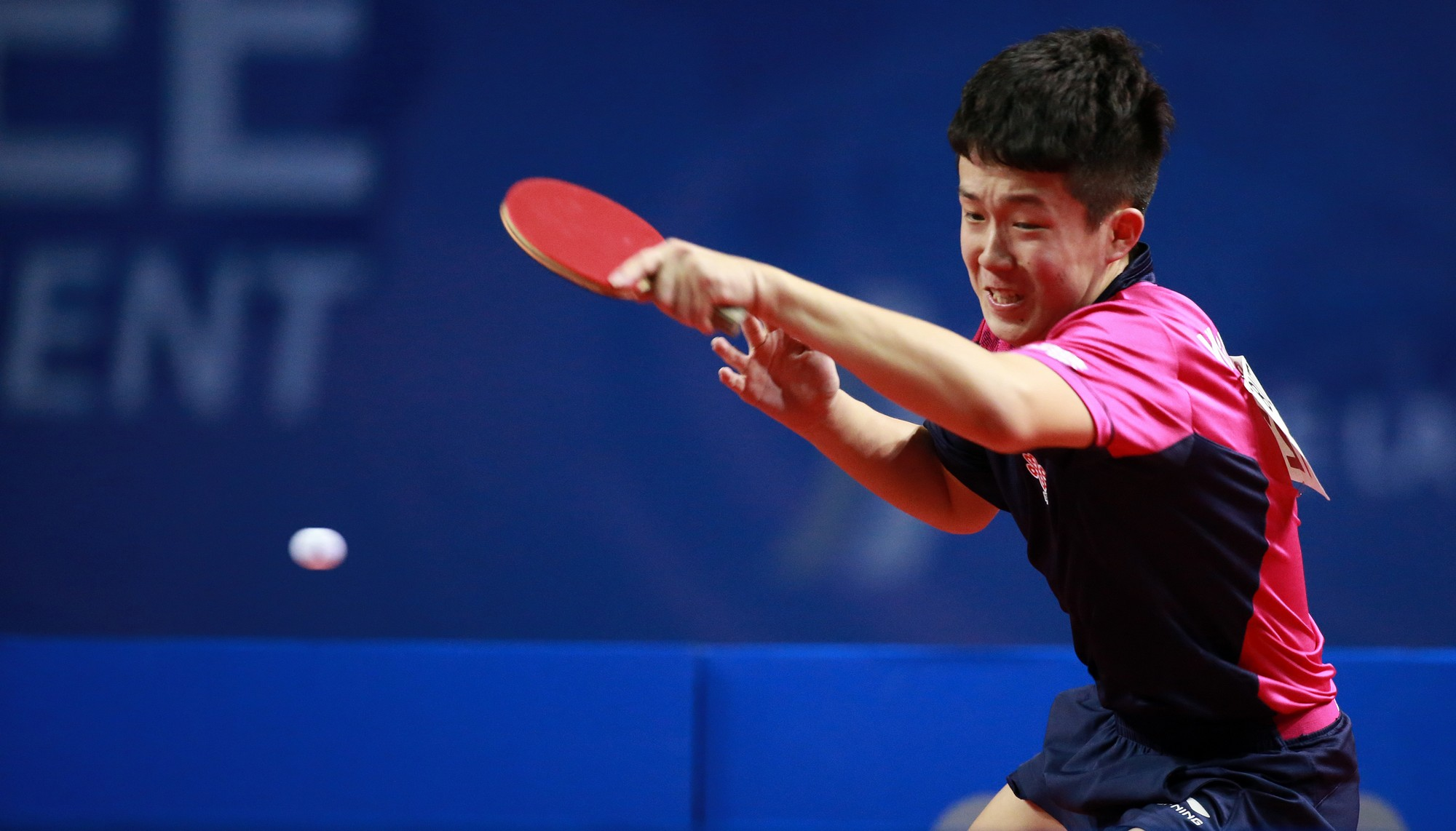 The talented WANG Chuqin