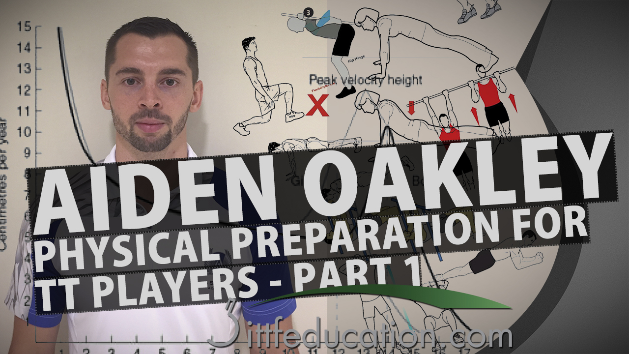 Aiden Oakley: Physical Preparation for Table Tennis Players, Part 1-2
