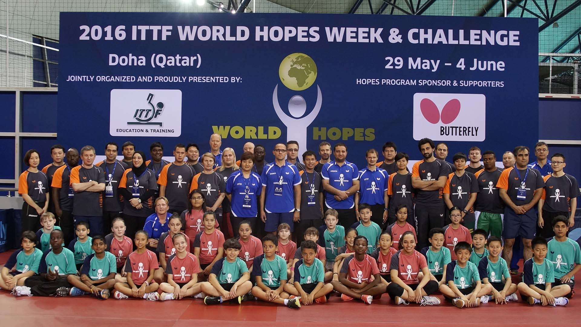 Wild Card nominations open for 2017 ITTF Hopes Week and Challenge