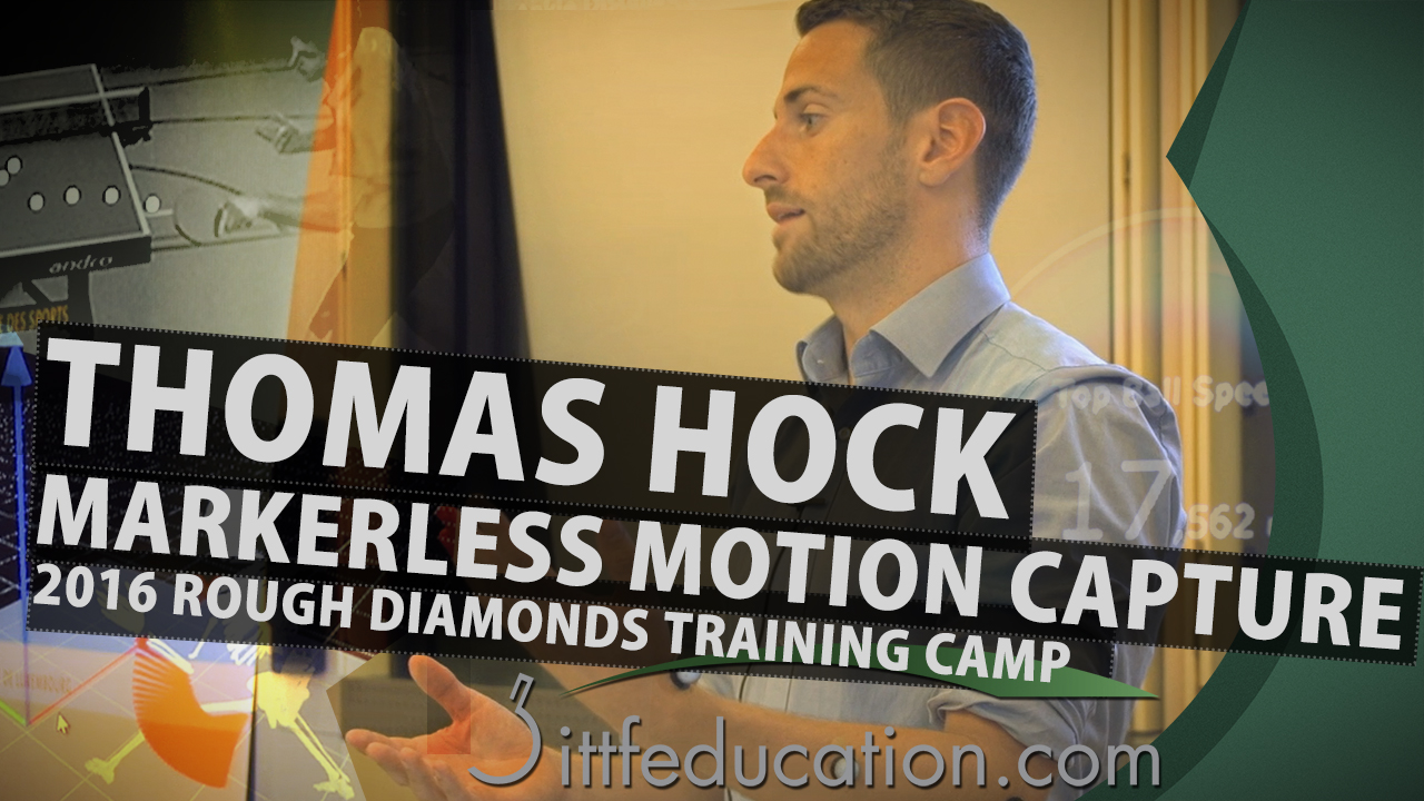 Thomas Hock: Markerless Motion Capture & Analysis For Table Tennis