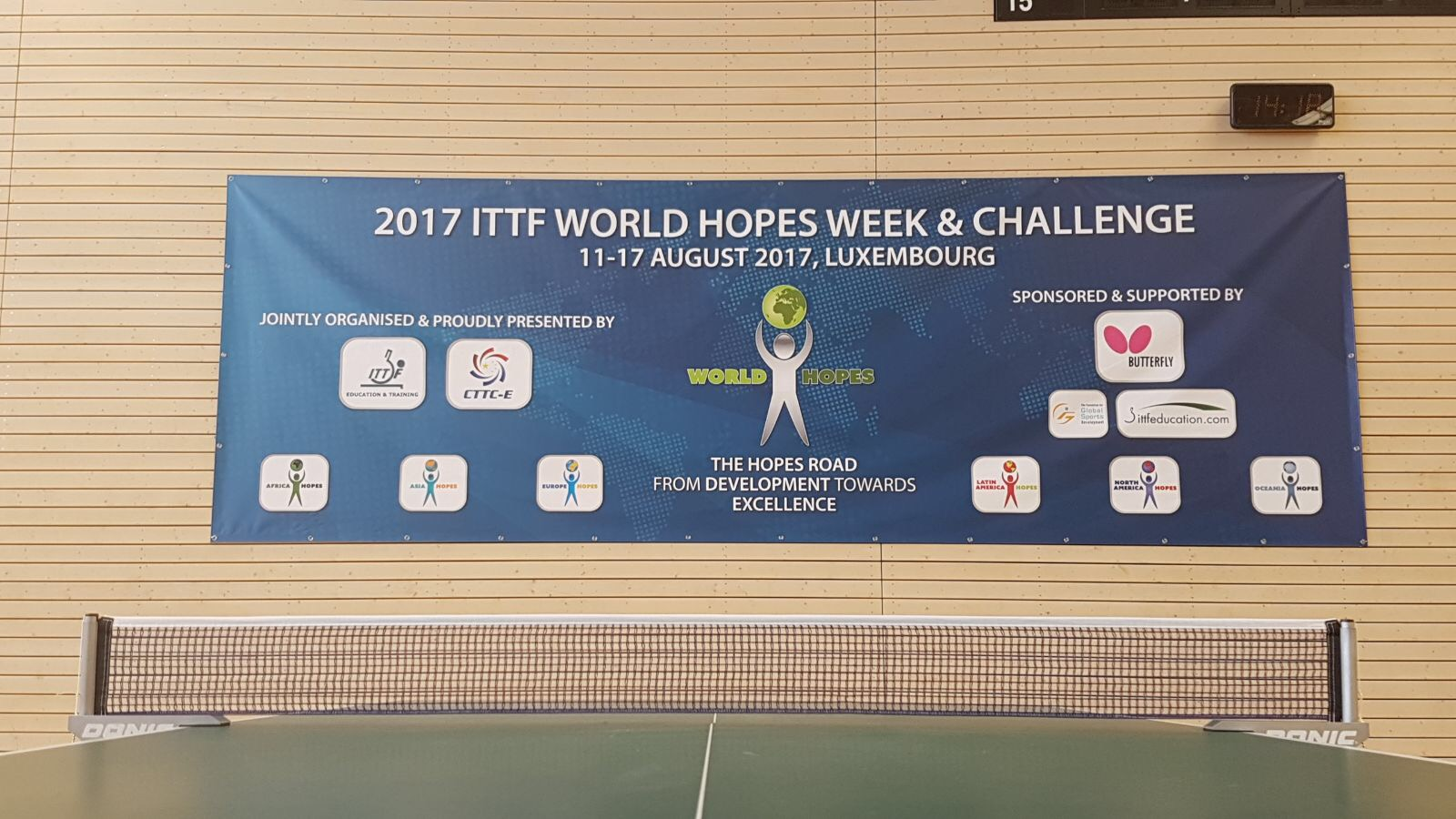 How to follow 2017 World Hopes Challenge?