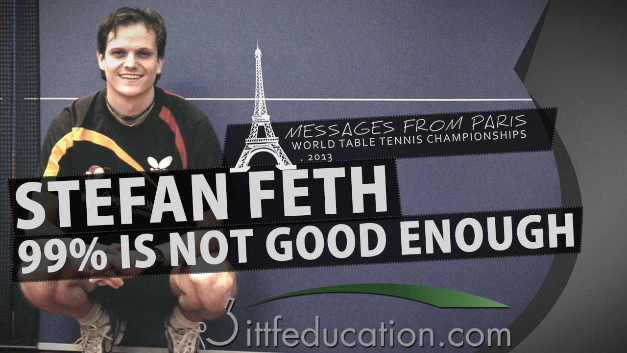 Stefan Feth 99% Is Not Good Enough –         Messages From Paris