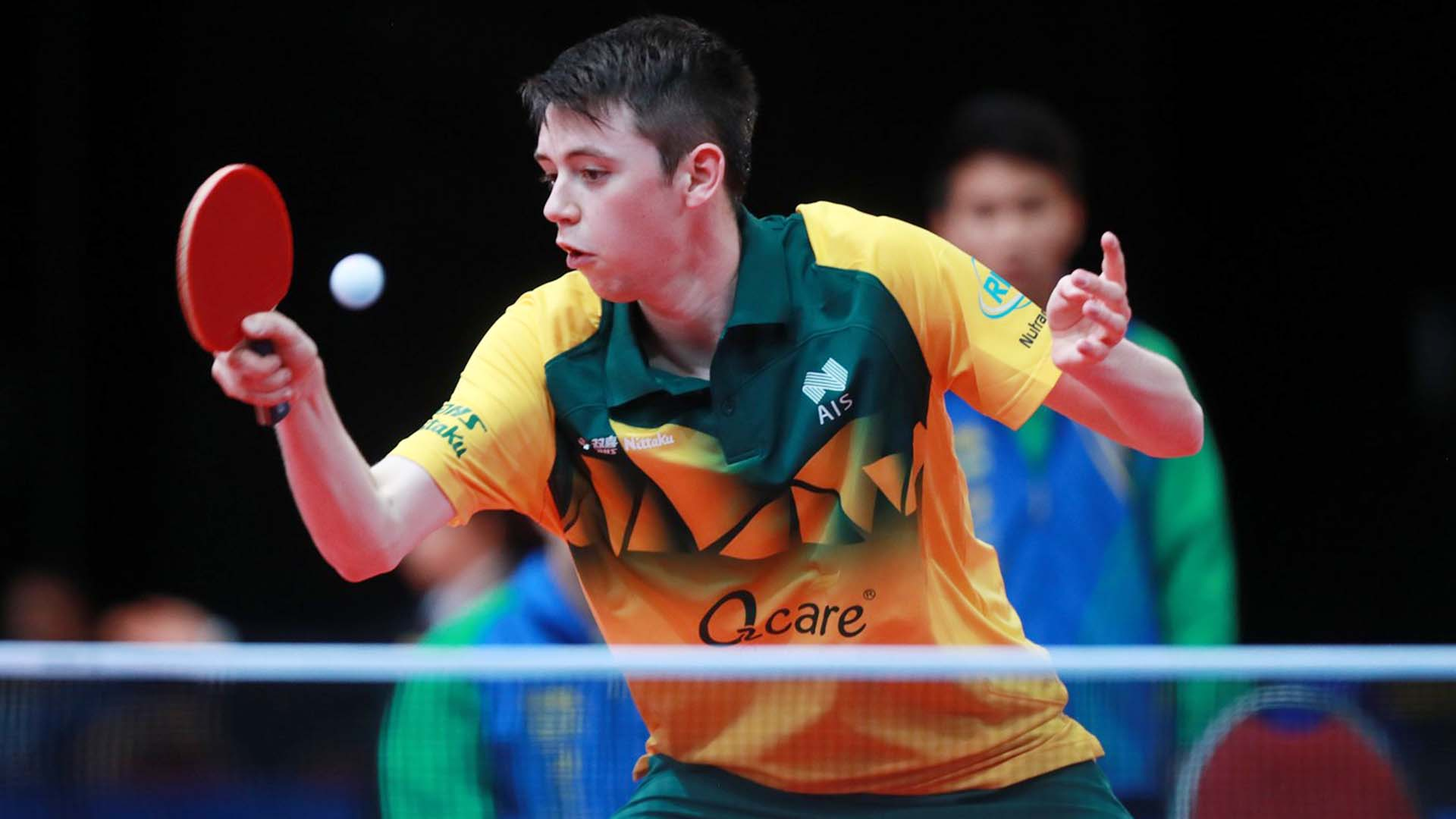 Australia's Jake Duffy Seamaster ITTF Training Camp experience