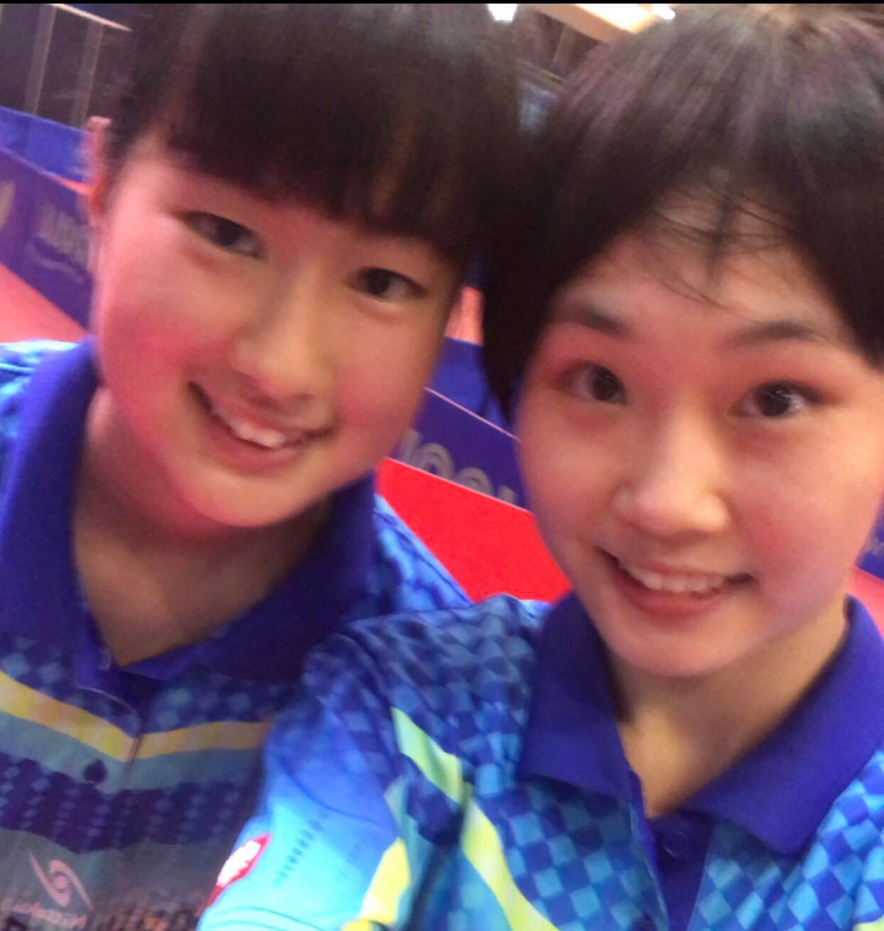 World Cadet Girls' Doubles Win for Asia