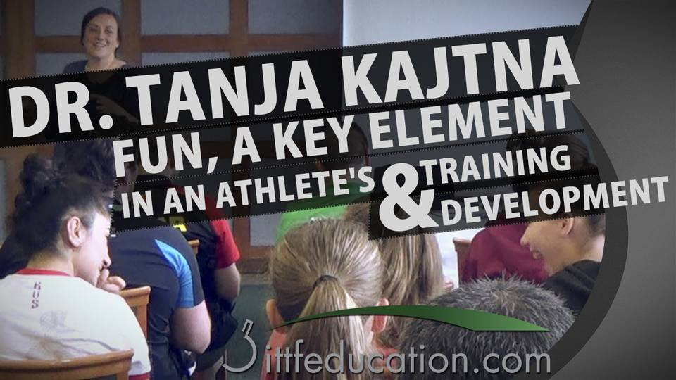 Dr Tanja Kajtna Fun a Key Element in an Athlete's Training & Development, Part 1-4
