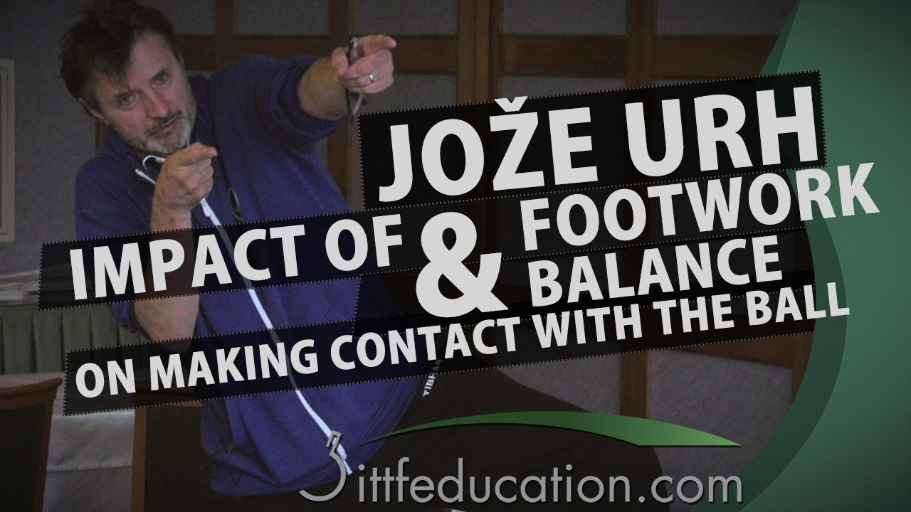 Joze Urh – Impact of Footwork and Balance On Making Contact With The Ball, Part 1-4