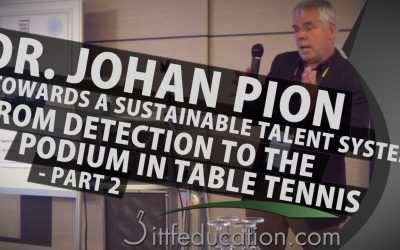 Dr Johan Pion From Detection To The Podium In Table Tennis