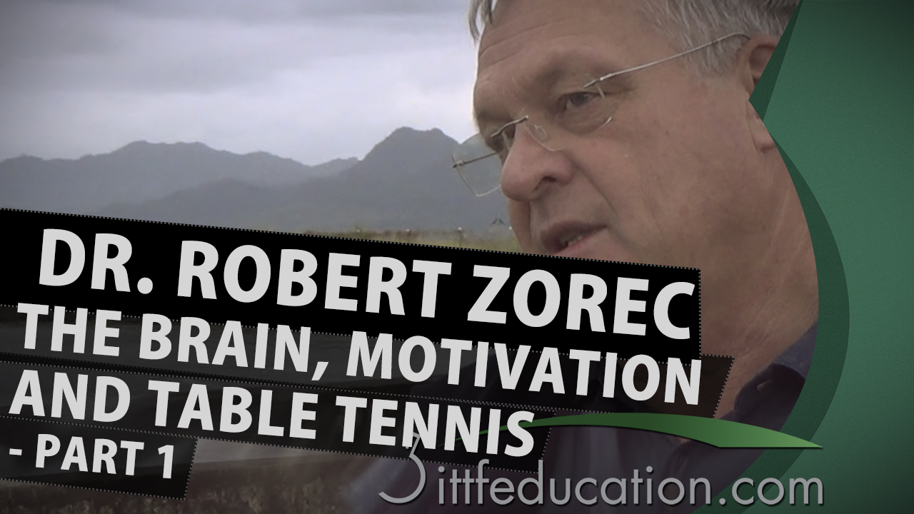 Dr Robert Zorec The Brain, Motivation And Table Tennis, Part 1-3