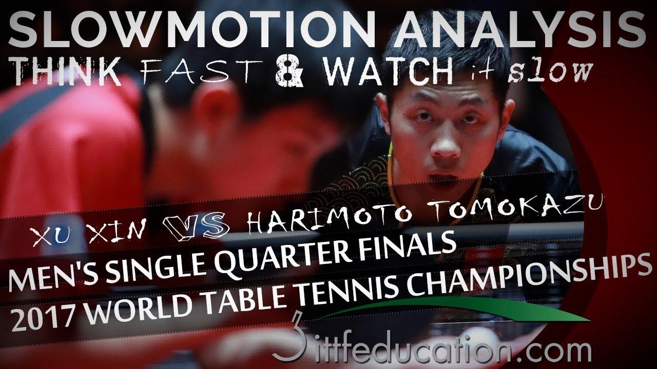 Xu Xin VS Harimoto Tomokazu – 2017 WTTC