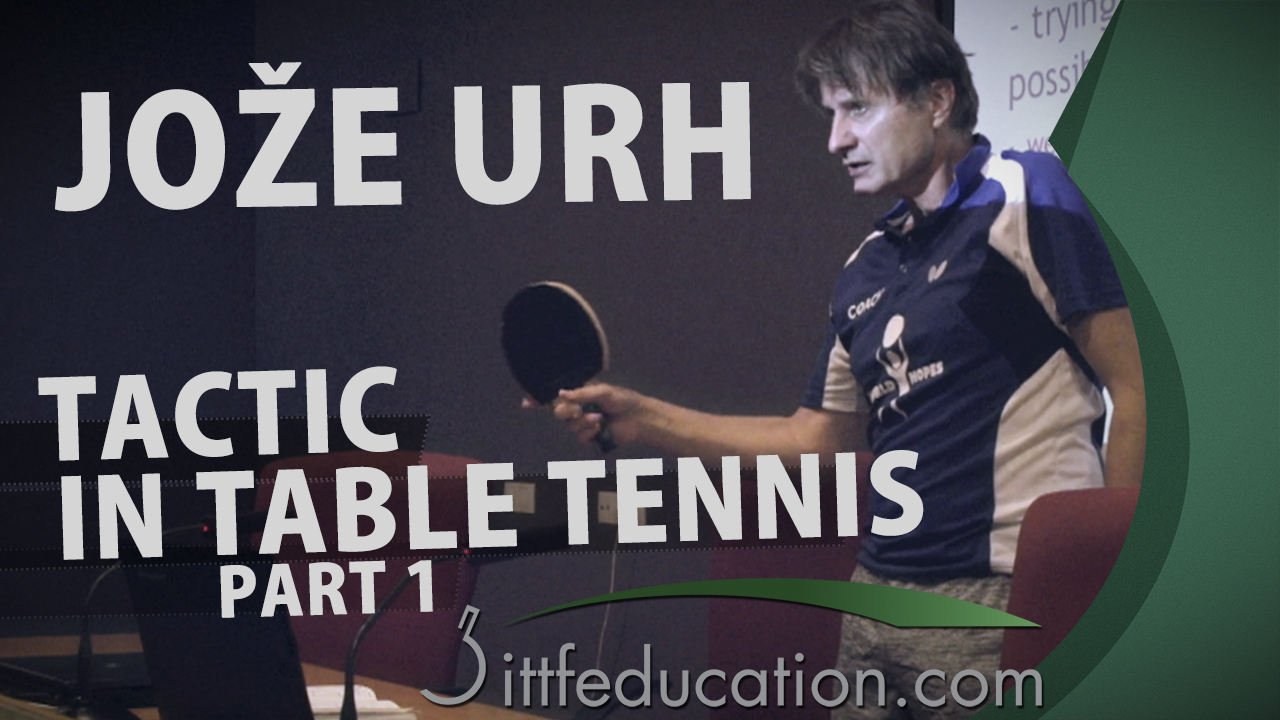 Joze Urh – Tactic In Table Tennis