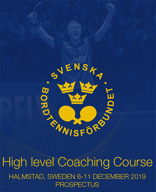 High level Coaching Course Halmstad, Sweden, 6-11 December 2019