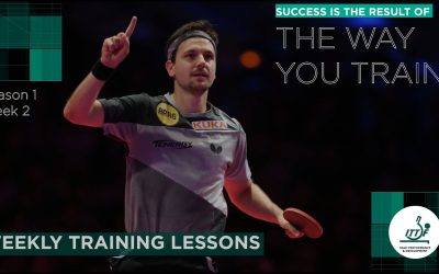 Staying Active: backhand After Forehand